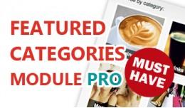 Featured Categories Module Pro - Create featured..