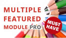 Multiple Featured Module Pro - UNLIMITED Feature..