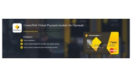 CommWeb Virtual Payment module for Opencart
