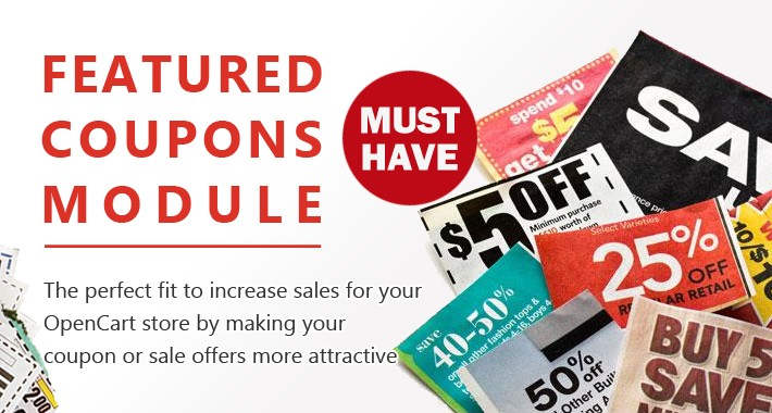 Featured Coupons - Promote Your Business with Coupons and Sales