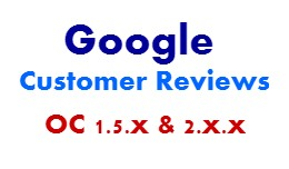 Opencart Google Customer Reviews (VQMOD)