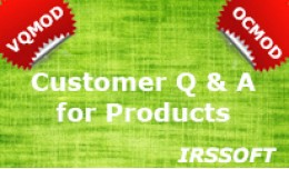 Customer Q & A for Products  VQMOD / OCMOD