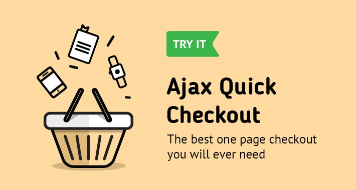 AJAX Quick Checkout Lite (One Page Checkout, Quick Checkout)