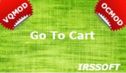 Go To Cart  VQMOD / OCMOD