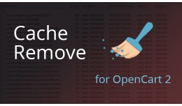 Cache Remove For OpenCart 2.x