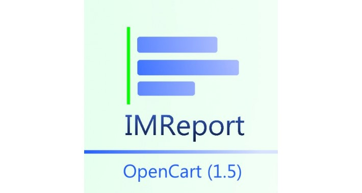 IMReport (OC 1.5) - Extended reporting for OpenCart 1.5.x