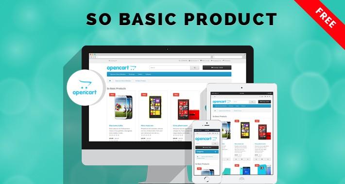 So Basic Product - Free Product Showcase OpenCart Module