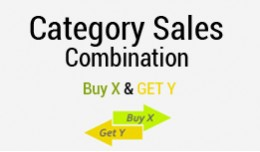 Category Combination Offers : Buy X & Get Y