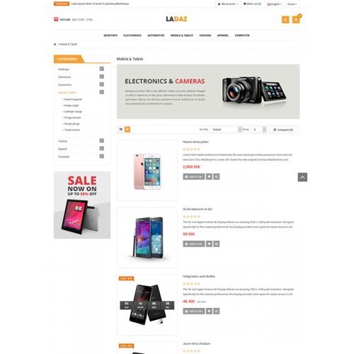 OpenCart - So Ladaz – Free Responsive OpenCart 3 x & 2 3 x Theme