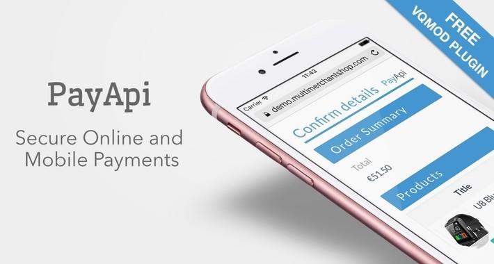 PayApi Payments plugin for OpenCart