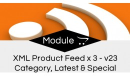 Product Feed + Specials Feed + Latest Feed  xml ..