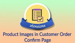 Product Images in Customer Order Confirm Page