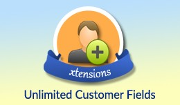 Unlimited Customer Fields-Add as many as you want