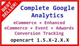 Complete Google Analytics 1.5.X-2.X.X