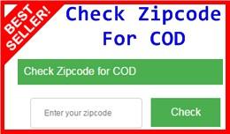 Check Zipcode For COD