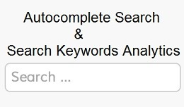 Search- Instant Ajax Search with Auto Complete &..