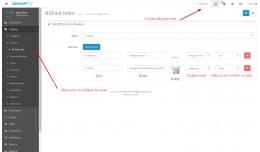 BD Fast Links - Shortcuts, Custom admin menu