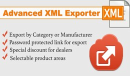 Advanced Xml Exporter for Dealers