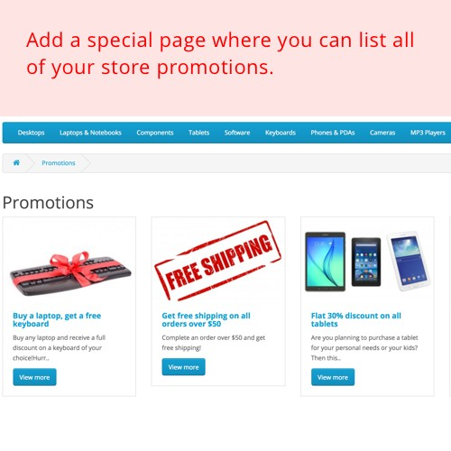 OpenCart - Promotions - Market-Proven Promotions That Bring
