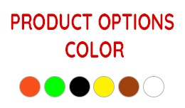 Product Option Color [vqmod/ocmod]