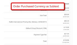 Order Purchased Currency Subtext  (2.x)