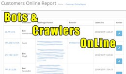 Bots and Crawlers OnLine