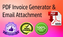 PDF Invoice Generator and Email Attachment