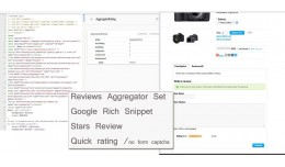 Reviews Aggregator Set,  Google Rich Snippet, St..