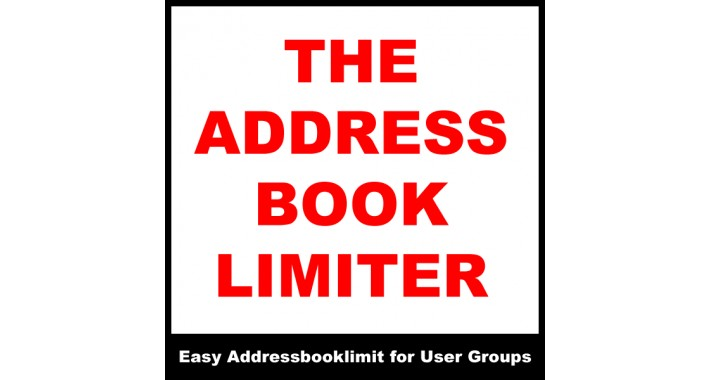 Address Book Limiter OCMOD