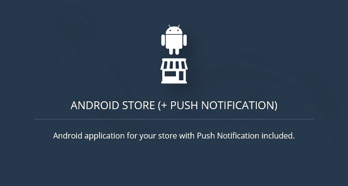 Android Store + Push Notification - OC2.x (android app)