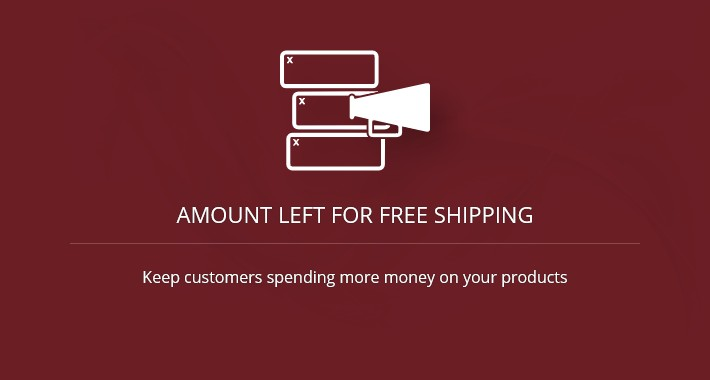 Amount Left for Free Shipping - OC2.x-3.x