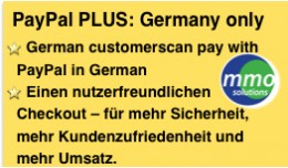 PayPal PLUS: German