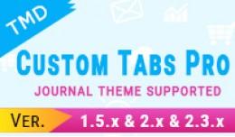 TMD Custom Tabs Pro