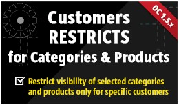 Customers Restricts [Categories&Products]