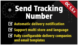 Send Tracking Number