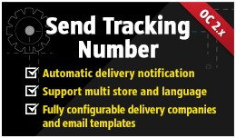 Send Tracking Number [OC2]