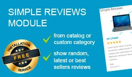 Simple Reviews (Testimonials) Module
