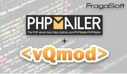 PHPmailer vQmod Fragasoft for OpenCart