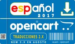 ✔ Spanish opencart 3.0.0.0 - 2.3.0.2 - 2.2.0.0..