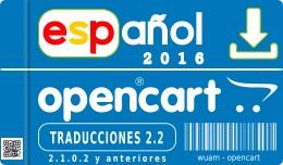 ✔ Spanish opencart  2.2.0.0 2.0.3.1 2.1.0.1 - ..