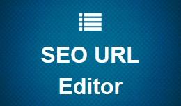 SEO URL Editor