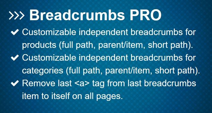 Breadcrumbs PRO