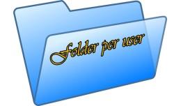 Folder per user