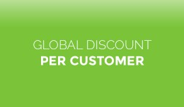 Global Discount for Each Customer