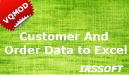 Customer and Order Data to Excel/CSV (vQmod)