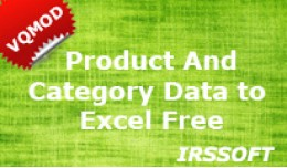 Product and Category Data to Excel/CSV (vQmod) F..