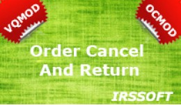 Order Cancel And Return VQMOD / OCMOD