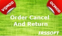 Order Cancel And Return VQMOD / OCMOD