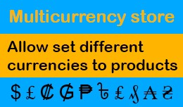 Multicurrency store
