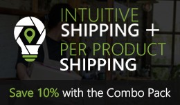 Intuitive Shipping + Per Product Shipping Combo